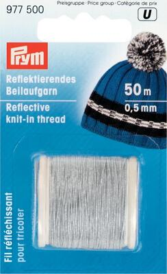Prym Reflecting knit-in thread 0.5 mm x 25 m