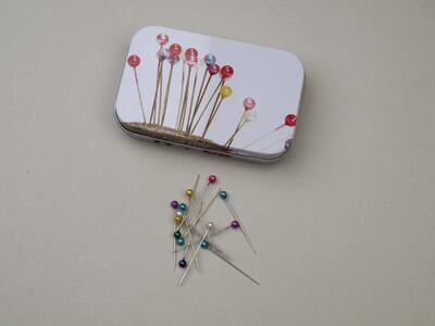 Cans with nipple needles 100 pcs