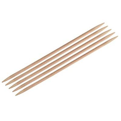 KnitPro Basix Birch Double Pointed Needles 20 cm