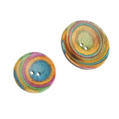 KnitPro Symfonie Classic Button Curved Round