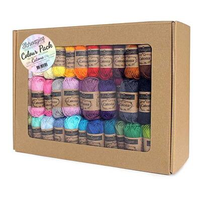 Scheepjes Catona Colour pack - 109 pcs x 10 g