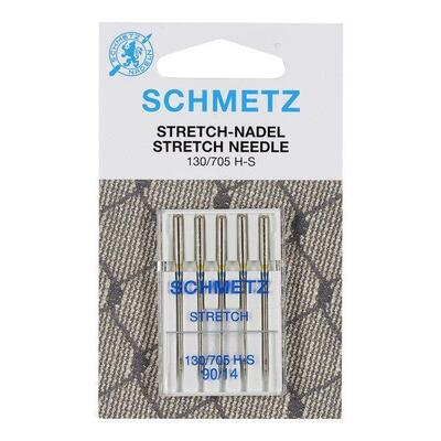 Schmetz Sewing Machine Stretch 90, 5 pcs