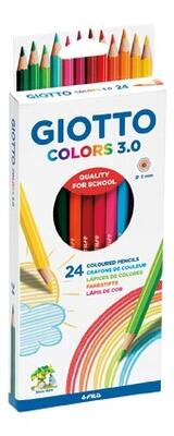 Giotto Colors 3.0 Farveblyanter, 24 stk