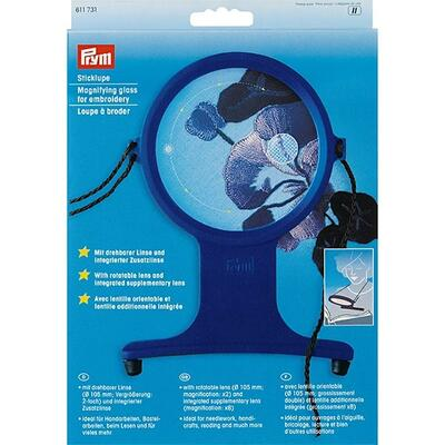 Prym Magnifying glass for embroidery with strap