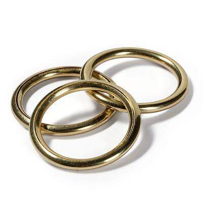 Prym Hollow rings Brass