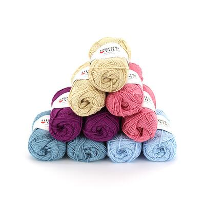 DLY9 Yarn Pack - Viola - 10 pcs