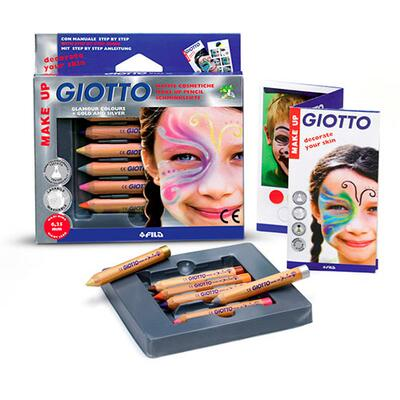 Giotto Make up Blyanter Glamour, 6 stk