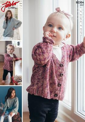 92304 Basic recipe with Raglan for Children and Baby