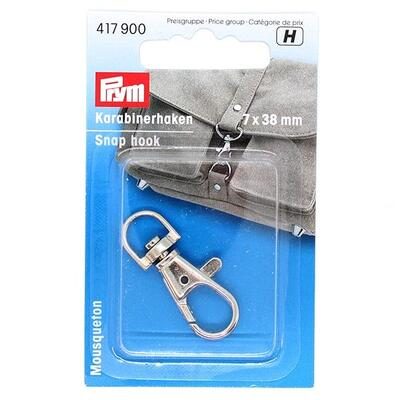 Prym Snap hook 7 x 38 mm, 1 pc