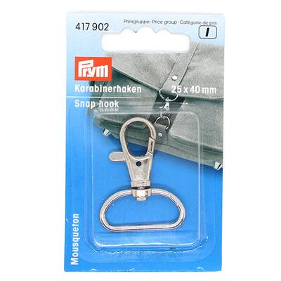 Prym Snap hook 25 x 40mm, 1 pc