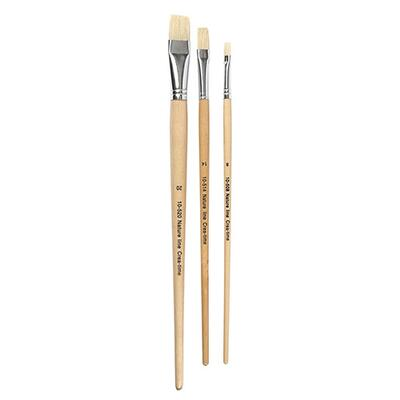 Nature Line Paintbrushes 8 + 14 + 20 mm, 3 pcs