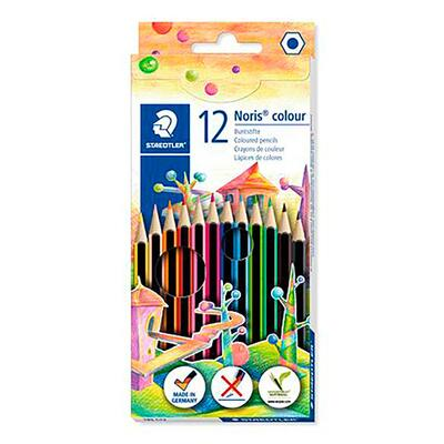 STAEDTLER Noris Club Coloured pencils + Pencil & Eraser, 12 + 2 pcs