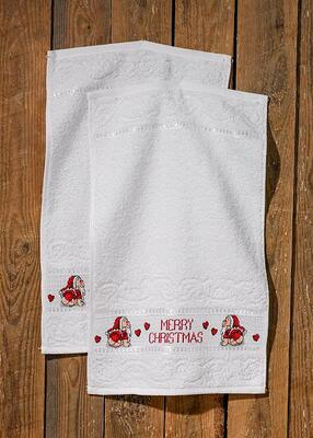 Embroidery Kit Merry Christmas, 2 pcs