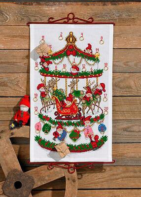 Embroidery Kit Carousel