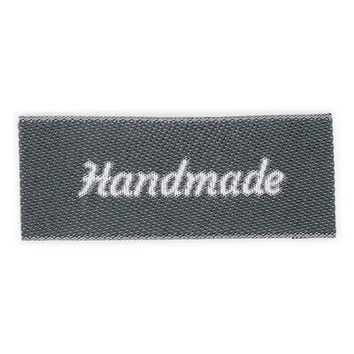 HobbyArts Labels, Dark Grey, 5 pcs Handmade