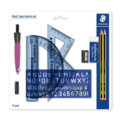 STAEDTLER Noris Geometry Set, 12 parts