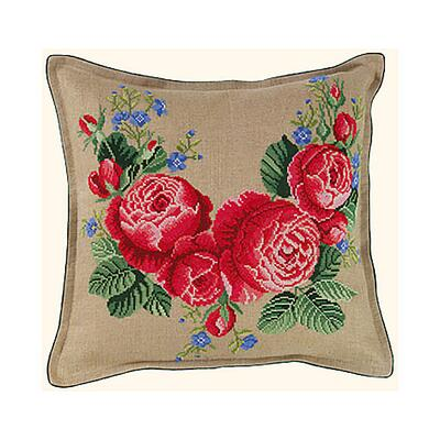 Embroidery kit Cushion Roses