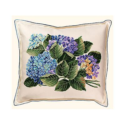 Embroidery kit Cushion Hydrangea