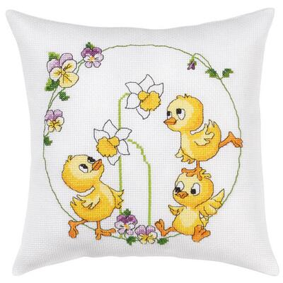 Embroidery kit Easter pillow