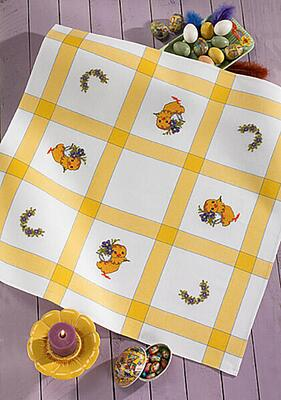 Embroidery kit Easter tablecloth