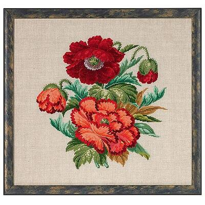 Embroidery kit Poppy