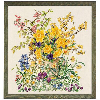Embroidery kit Daffodils