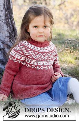 37-5 Lillesand Jumper by DROPS Design