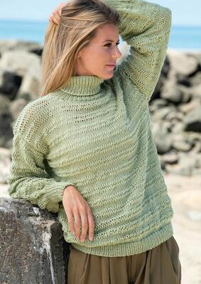 1815 Sweater with long stitches