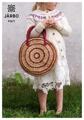 92671 Smalltwisted Pastry Crocheted Bag