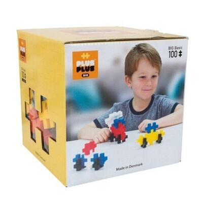 Plus-Plus LARGE Basic Mix, 100 pcs