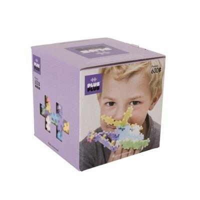 Plus-Plus in Box, Pastel Mix, 600 pcs
