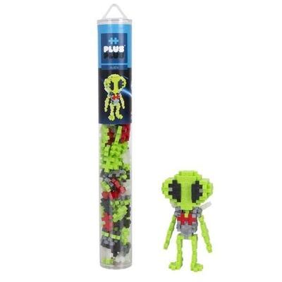 Plus-Plus in Pipes, Alien, 100 pcs