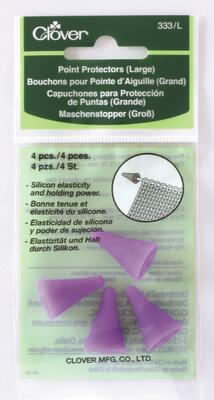 Clover Needle protector, Large (Purple)