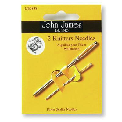 John James Knitters Needles size 14/18 (2 needles)