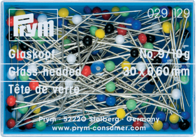 Prym Glass-headed pins