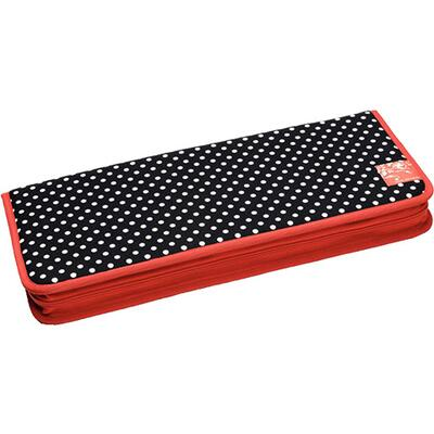 Prym Knitting needle case Flat, Polka Dots