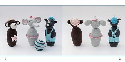 Book: Crocheted cone dolls - for games and rent