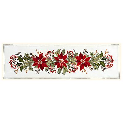 Embroidery Kit Christmas Stars & Red Berries