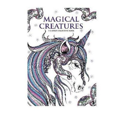 Coloring book A4 Magical Creatures, 32 pages