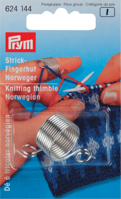 Prym Knitting thimble Norwegian