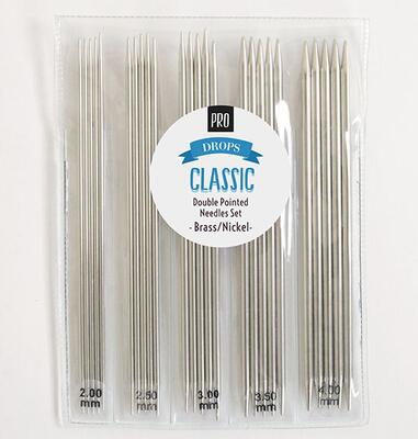 DROPS Pro CLASSIC Double Pointed Needles Set (2.00-4.00mm)